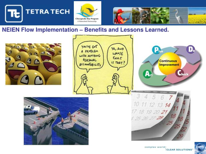 NEIEN Flow Implementation – Benefits and Lessons Learned.