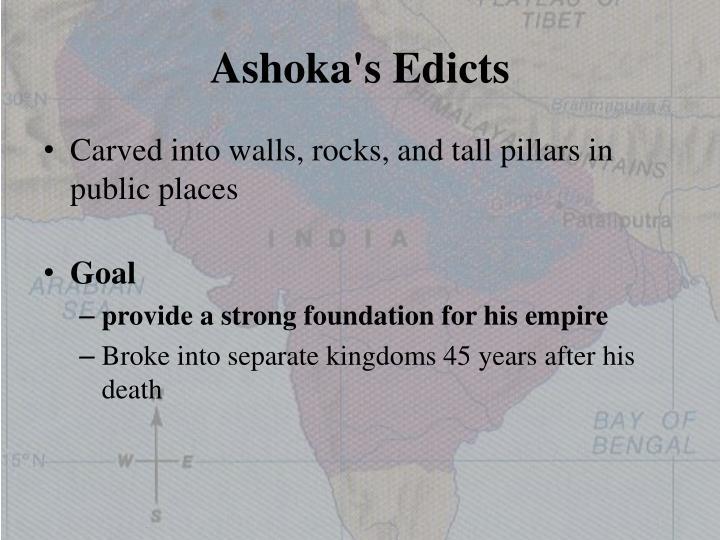 Ashoka's Edicts