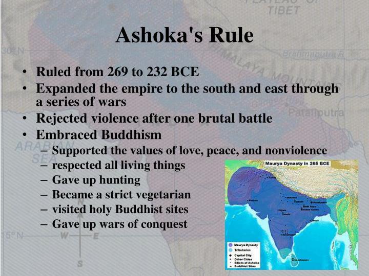 Ashoka's Rule