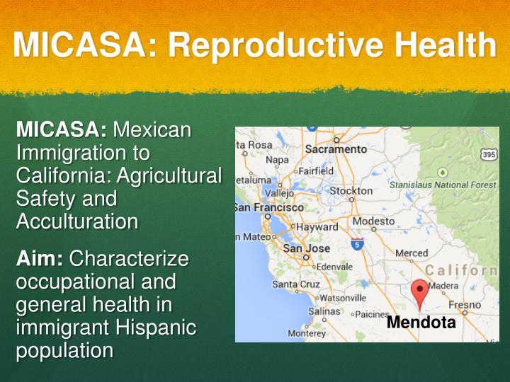 Micasa reproductive health