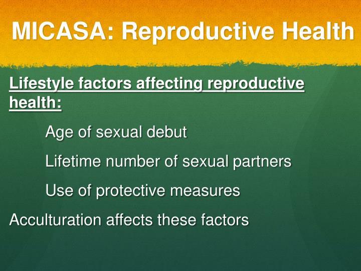 MICASA: Reproductive Health