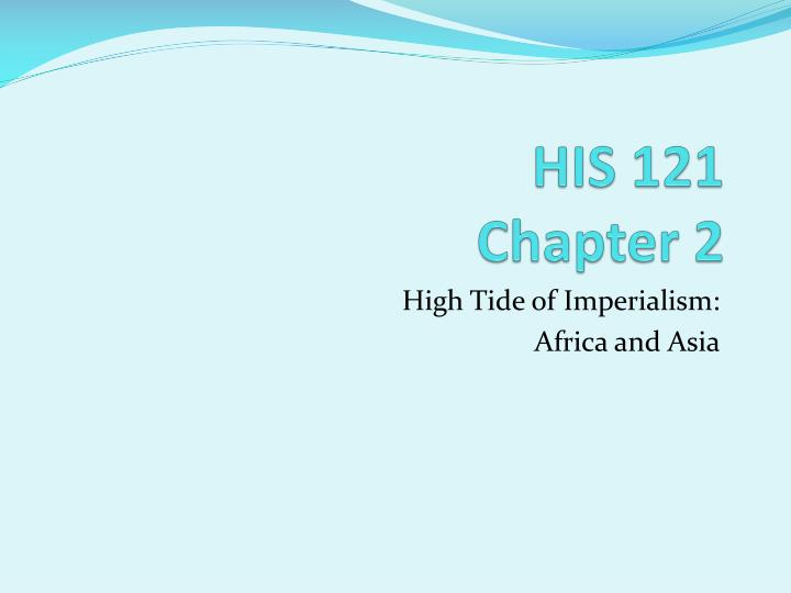 His 121 chapter 2