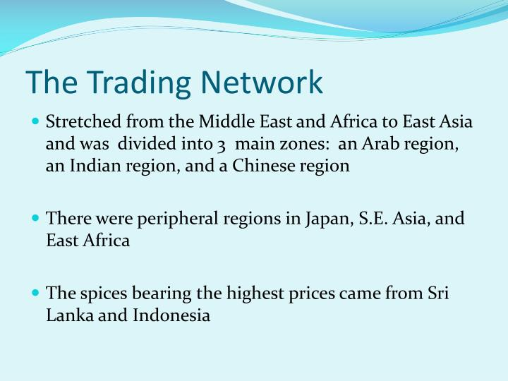 The Trading Network