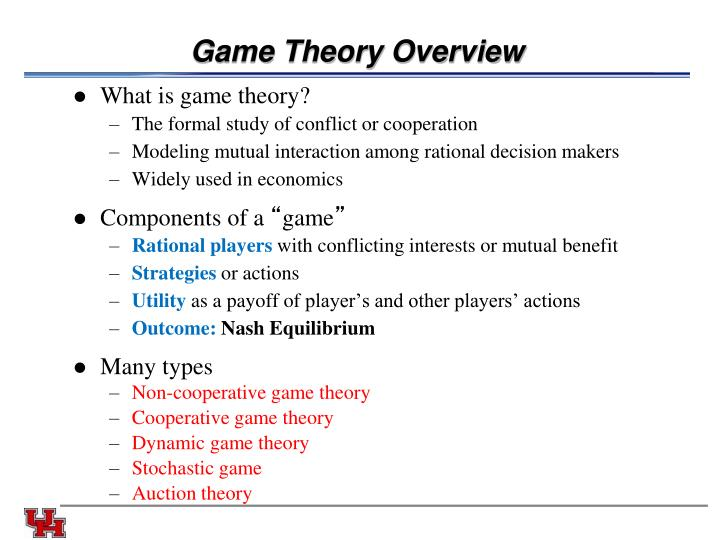 Game Theory Overview