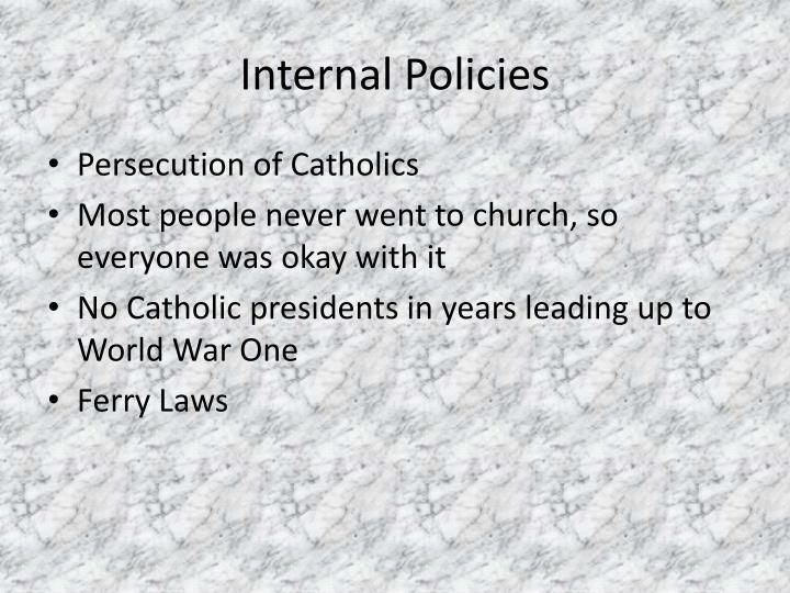 Internal Policies