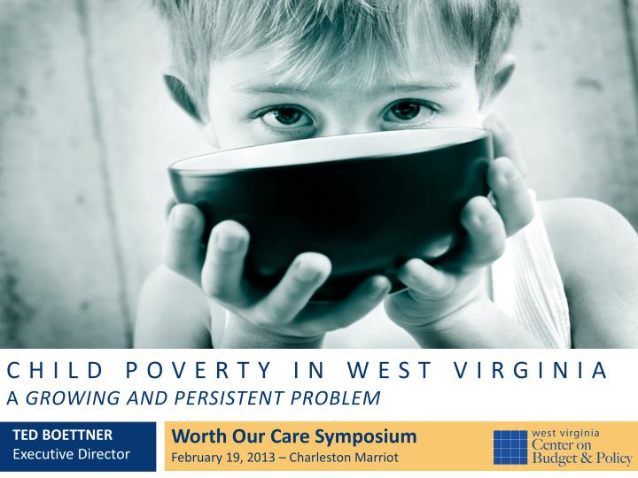 Child poverty in west virginia a growing and persistent problem