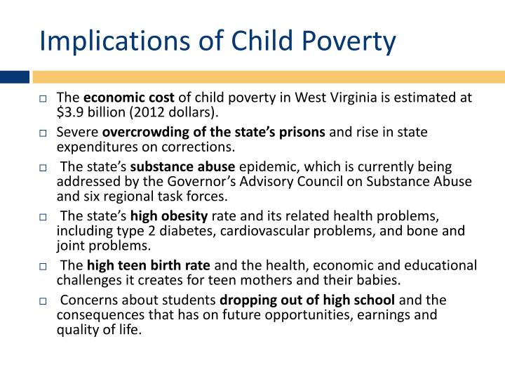 Implications of Child Poverty