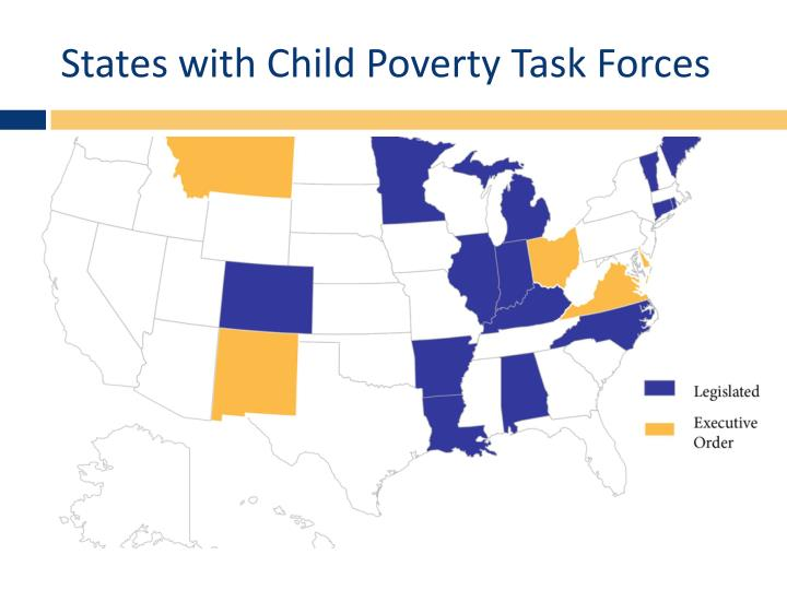 States with Child Poverty Task Forces