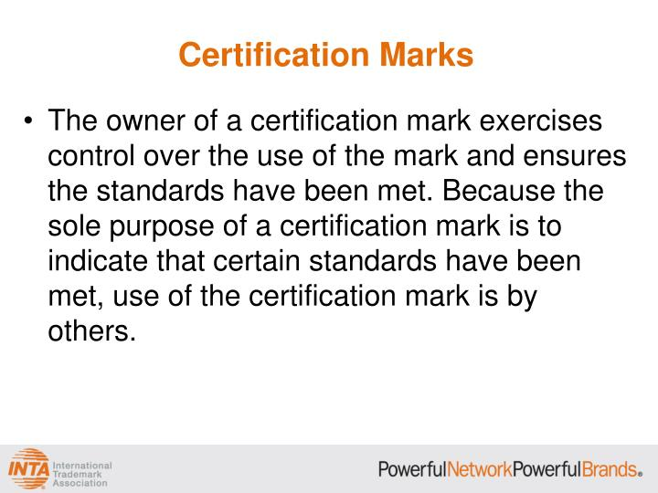 PPT - Collective Marks and Certification Marks PowerPoint ...