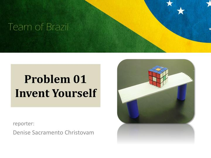 problem 01 invent yourself n.