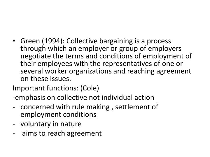 Ppt Collective Bargaining Powerpoint Presentation Id1988650