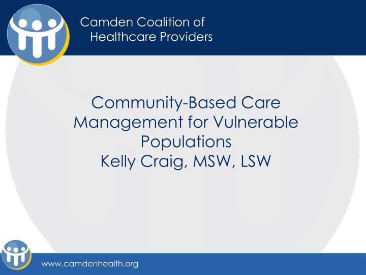 Camden Coalition of