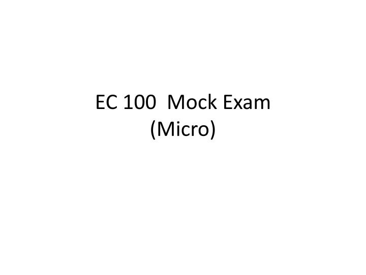 midterm mock exam A midterm exam is an exam given near the middle of an academic grading term, or near the middle of any given quarter or semester see also final examination.