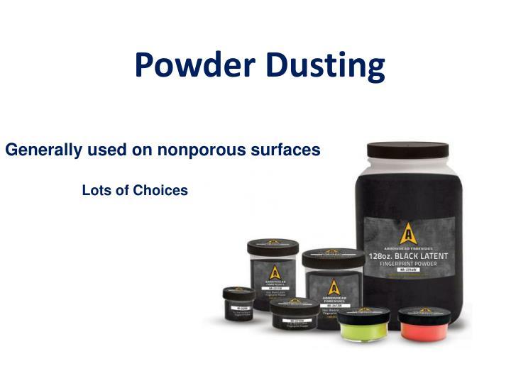 Powder Dusting