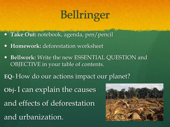 the causes and effects of deforestation in This is a video to spread the word about deforestation please share to help.