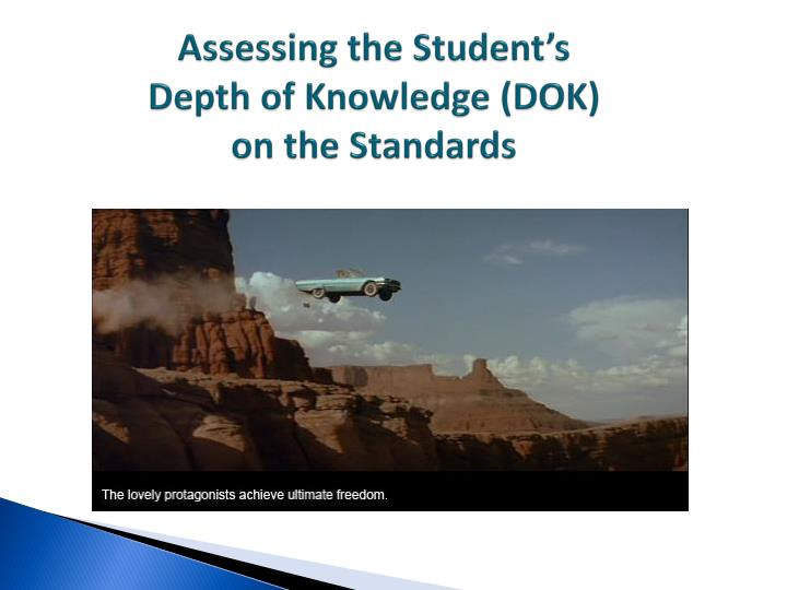 Assessing the Student's