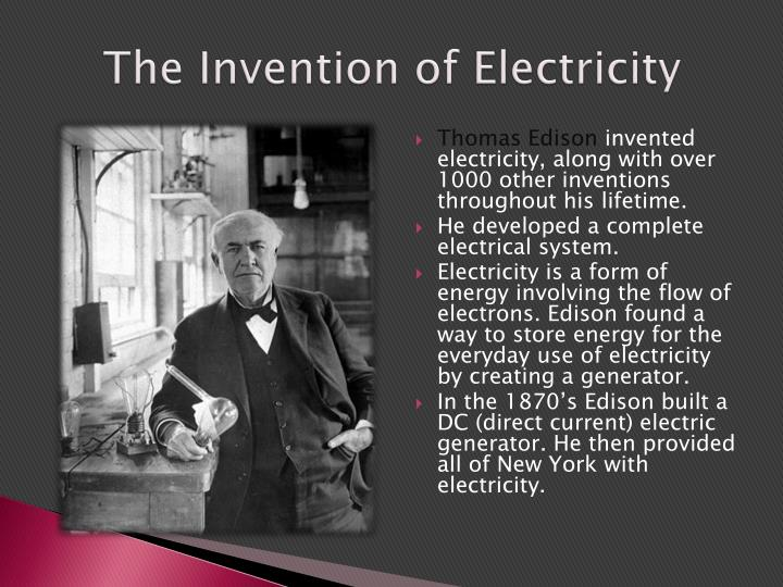 invention of electricity essay - replacement of fossil fuels with nuclear energy for electricity abstract our nation is on the brink of an energy crisis and alternative means to produce electricity must be found fossil fuel resources are declining sharply and nuclear energy is the leading form of replacement.