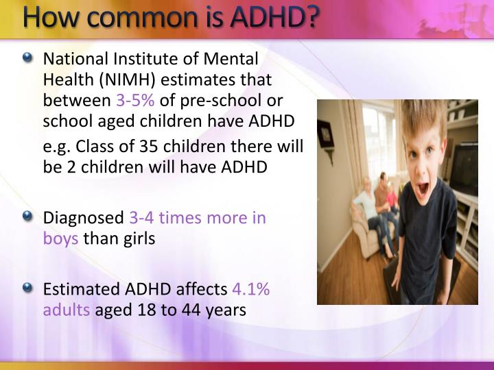 a description of what adhd is Attention deficit hyperactivity disorder (adhd) is a behavioural disorder, not an illness or a sign of low intelligence attention deficit hyperactivity disorder (adhd) is a behavioural disorder, not an illness or a sign of low intelligence.