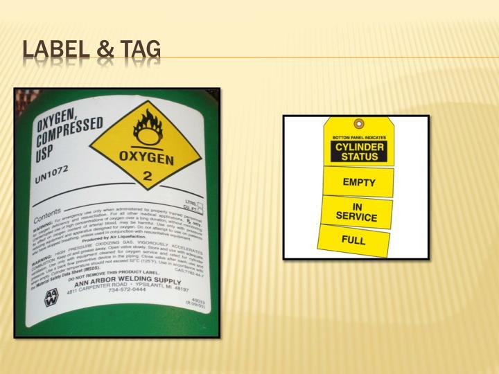 Label & tag