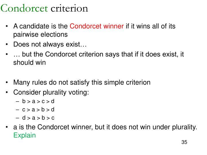 Condorcet