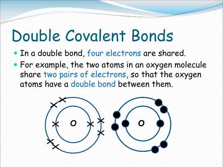 Double Covalent Bonds