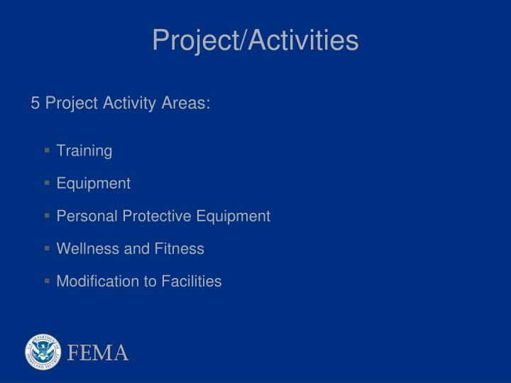 Project/Activities