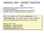 semeval 2007 dataset creation 4