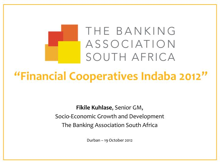 analysis of south africas banking/financial system The majority of south african banks charge account fees, and transaction and offshore banking in south africa south african citizens can take a maximum of zar 10m a if you're considering investing your cash offshore, you should speak to a financial adviser.