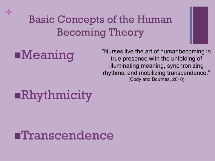 theory of human becoming