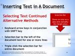 inserting text in a document2
