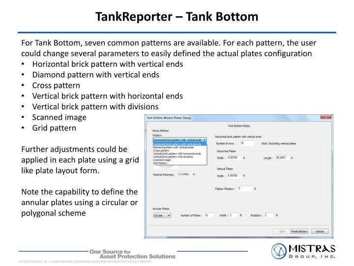 TankReporter – Tank Bottom