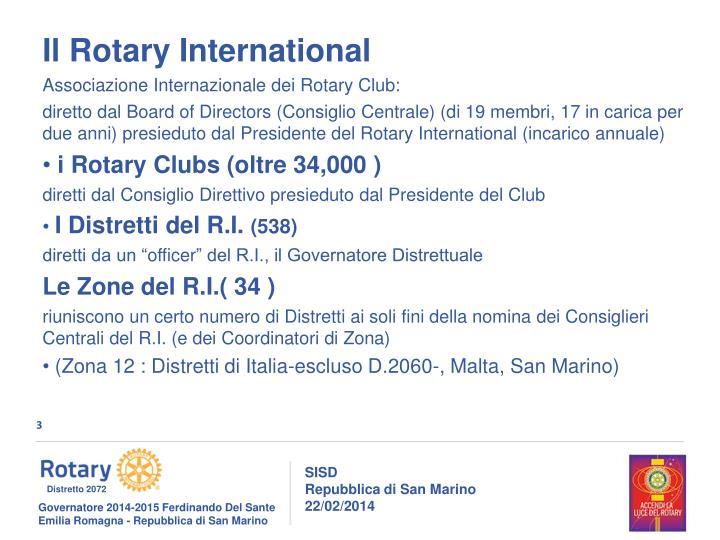 Il Rotary International