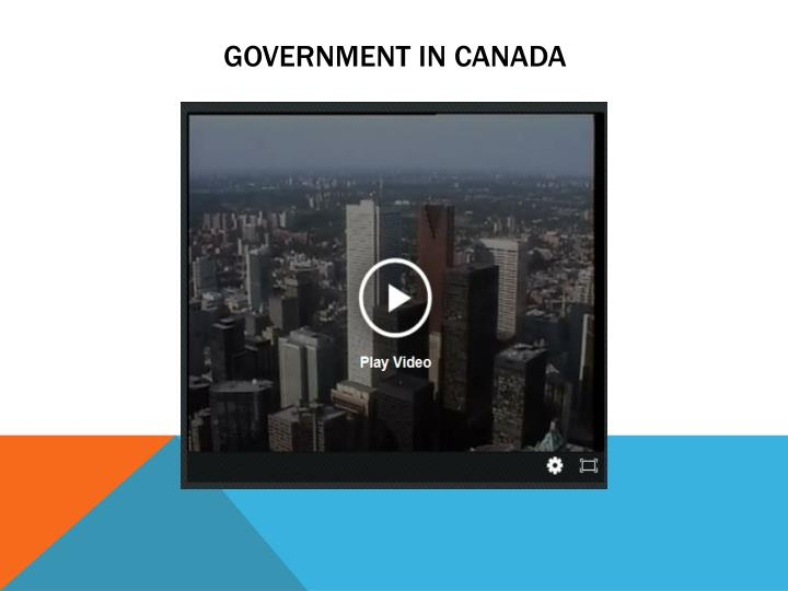 Government in