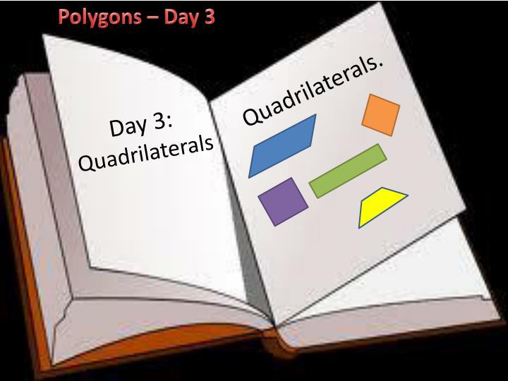 Polygons – Day 3