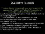 qualitative research1