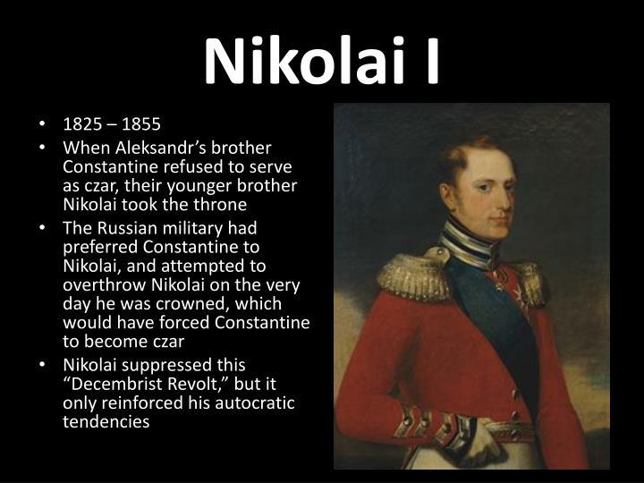 Nikolai I