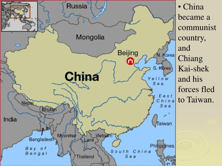a history of how china became a communist country How china became communist to understand why mao triumphed, it is necessary to look beyond the battlefields in communist country mired in central plan-.