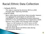 racial ethnic data collection