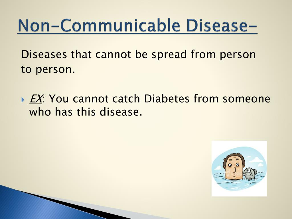 PPT - Communicable and Non-Communicable Diseases ...