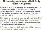 the most general case of infinitely many limit points