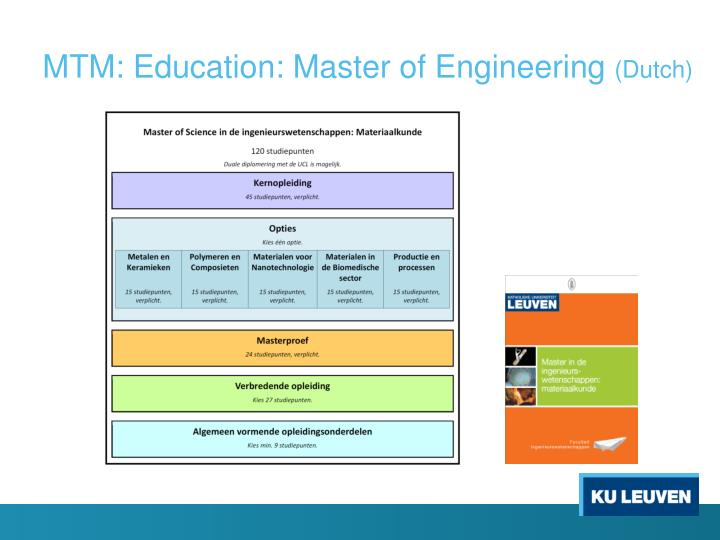 master thesis kuleuven ingenieurswetenschappen