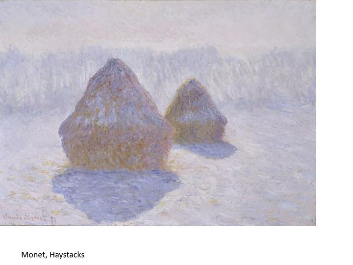 Monet, Haystacks