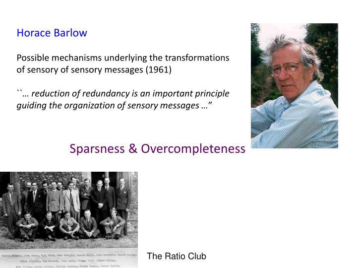 Horace Barlow