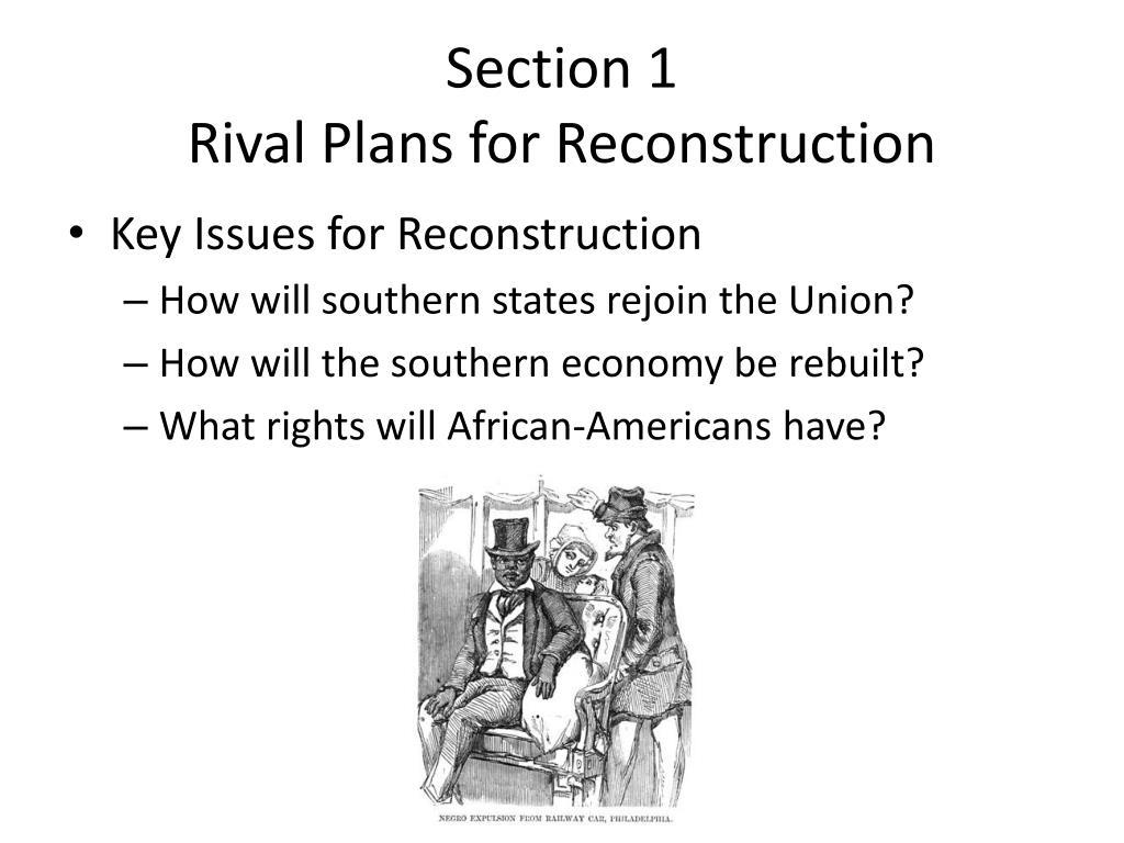 PPT - Unit 3: Civil War and Reconstruction 1846 - 1877 ...