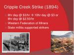 cripple creek strike 1894