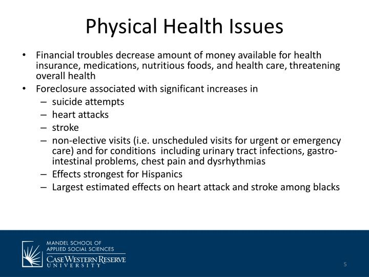 Physical Health Issues