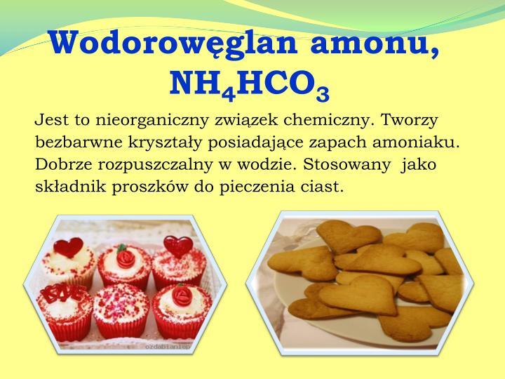 Wodorowęglan amonu,