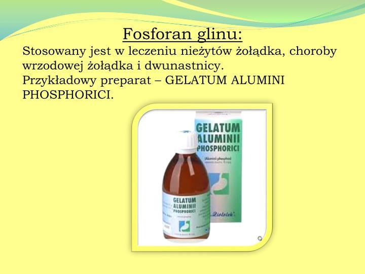 Fosforan glinu: