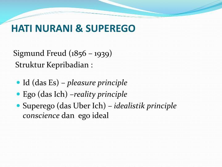 HATI NURANI & SUPEREGO