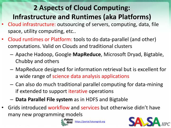 2 Aspects of Cloud Computing: